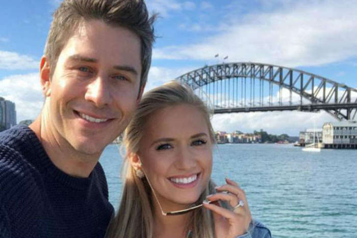 Arie Luyendyk Jr. Claps Back At Trolls Criticizing Lauren Burnham For Leaving Newborn Daughter At Home
