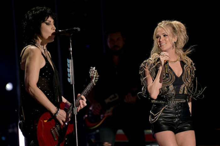 Twitter Explodes After Joan Jett Joins Carrie Underwood On Stage At CMA Fest For Several Duets