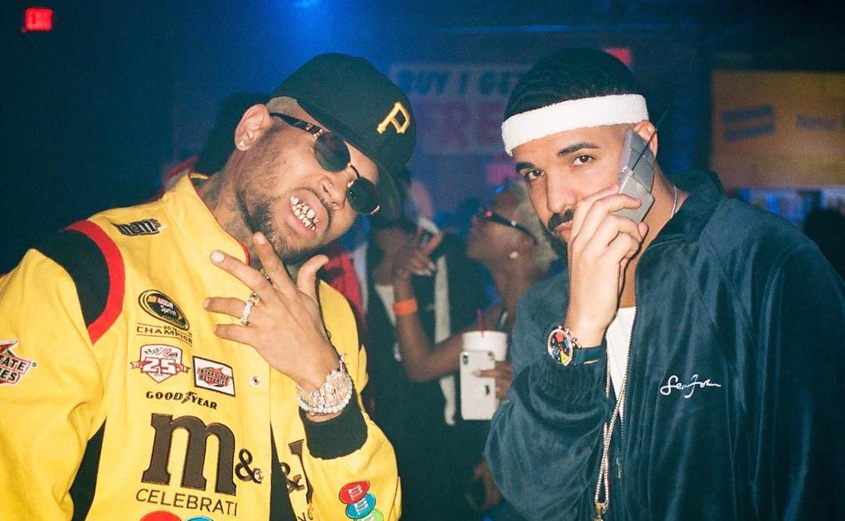 Chris Brown Hints At A Collaboration With Drake
