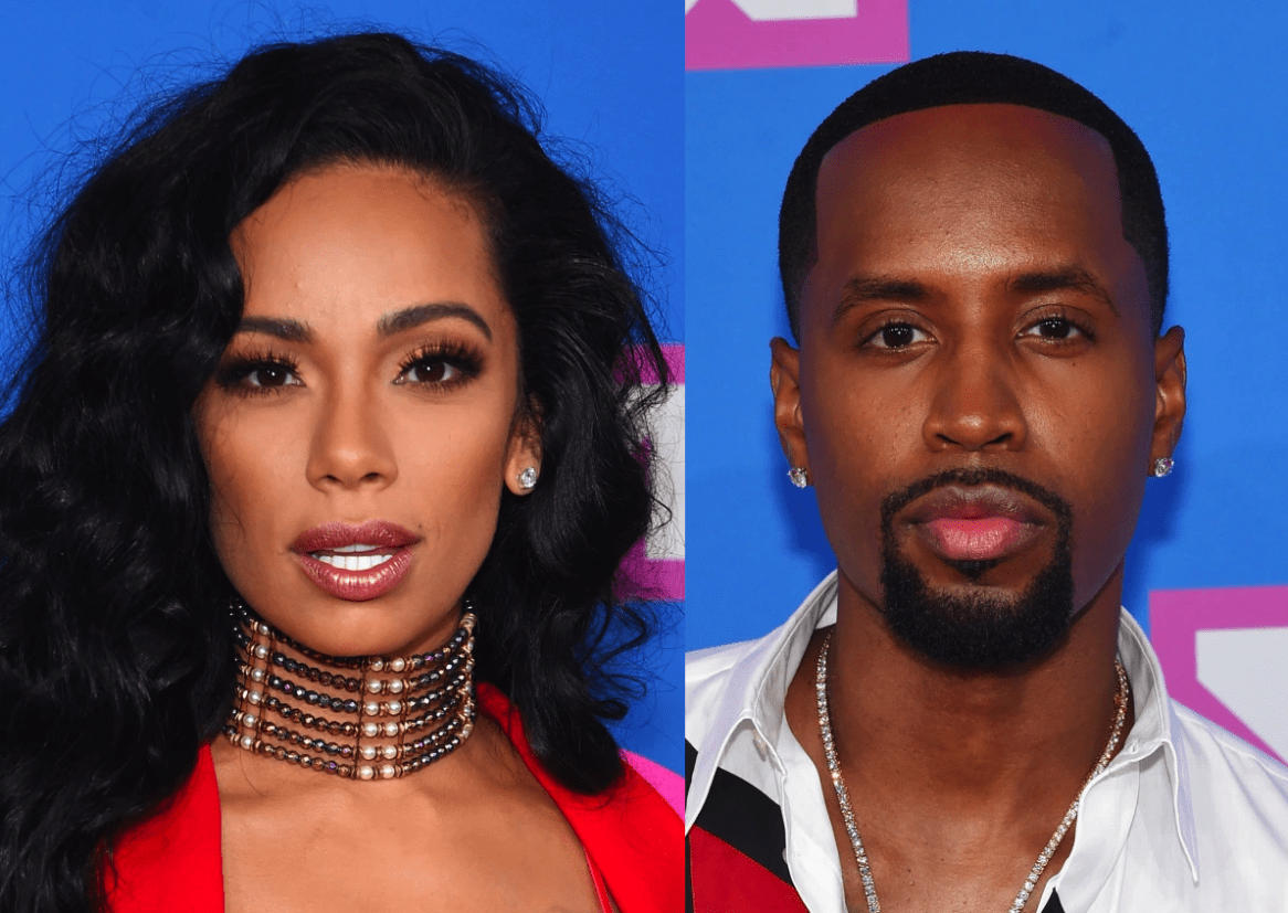 """erica-mena-shows-off-her-bomb-body-at-the-beach-while-safaree-finally-finds-his-match"""