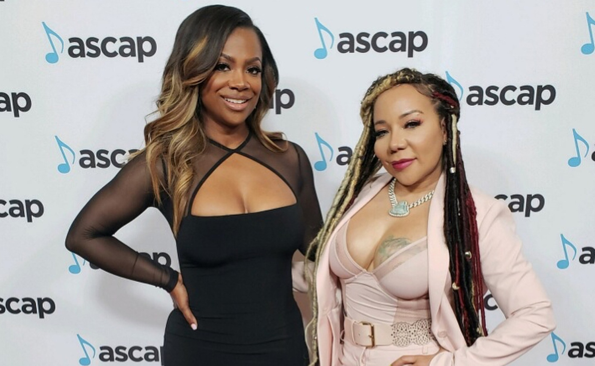 """tiny-harris-and-fellow-xscape-diva-kandi-burruss-wear-stunning-pink-bathing-suits-on-family-vacations-with-t-i-and-todd-tucker-fans-love-the-pictures"""