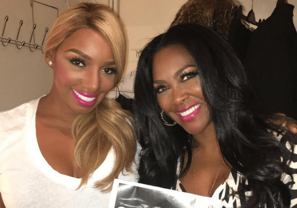 Kenya Moore Doesn't Seem Fazed That NeNe Leakes Refuses To Film RHOA With Her