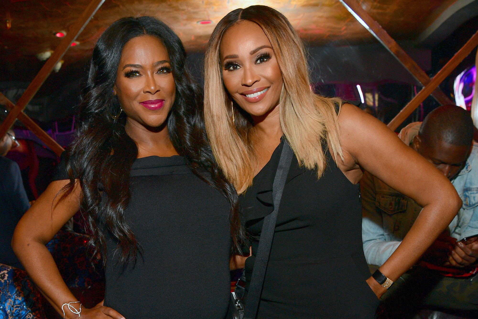Kenya Moore's Latest Video Has Fans Saying That NeNe Leakes Will Be Mad Seeing That She And Cynthia Bailey Get Along So Great