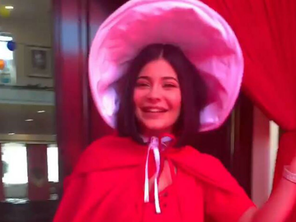 """twitter-drags-kylie-jenner-after-she-throws-handmaids-tale-themed-party"""