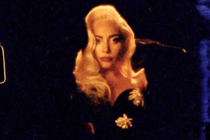 Lady Gaga Tempts Fate In Low-Cut Black Dress In Las Vegas — Watch The Video