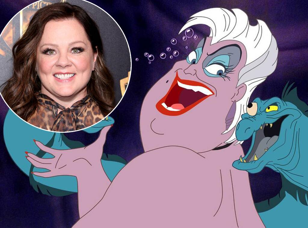 """""""melissa-mccarthy-reportedly-in-talks-with-disney-to-portray-iconic-villain-ursula-in-the-upcoming-live-action-remake-of-the-little-mermaid"""""""