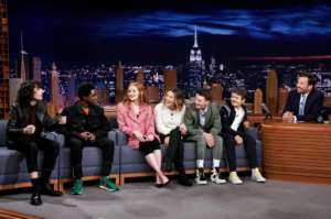Millie Bobby Brown, Finn Wolfhard And Stranger Things Cast Visit The Tonight Show Starring Jimmy Fallon