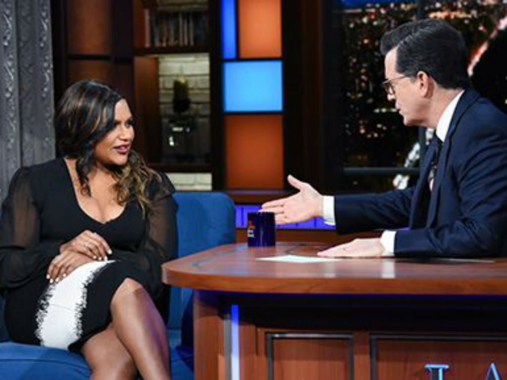 mindy-kaling-hilariously-mocks-stephen-colbert-after-his-apple-watch-cuts-her-off-in-new-late-show-video