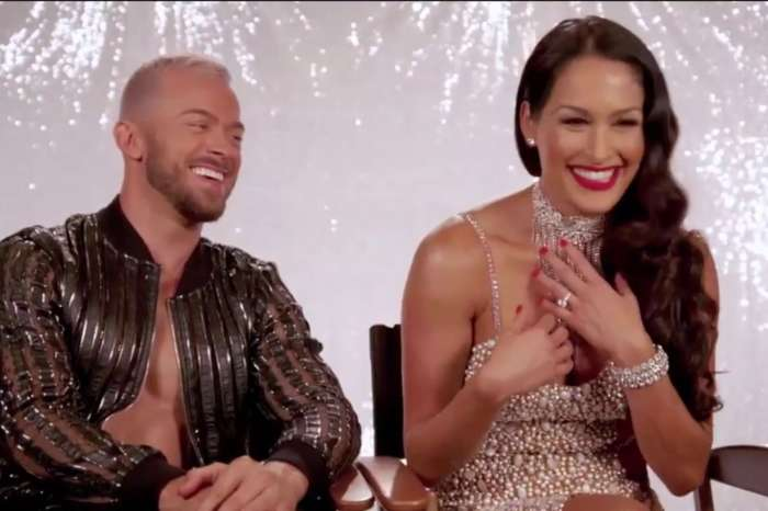 online retailer dfe7f bf9d6 Artem Chigvintsev Made Nikki And Brie Bella Believe That He Was Going To  Pop The Question To Nikki!