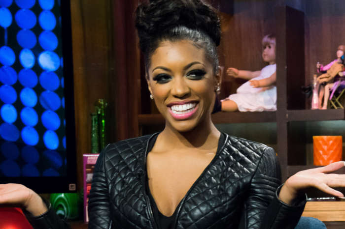 Porsha Williams Stuns In Bathing Suit While At The Pool With Baby PJ