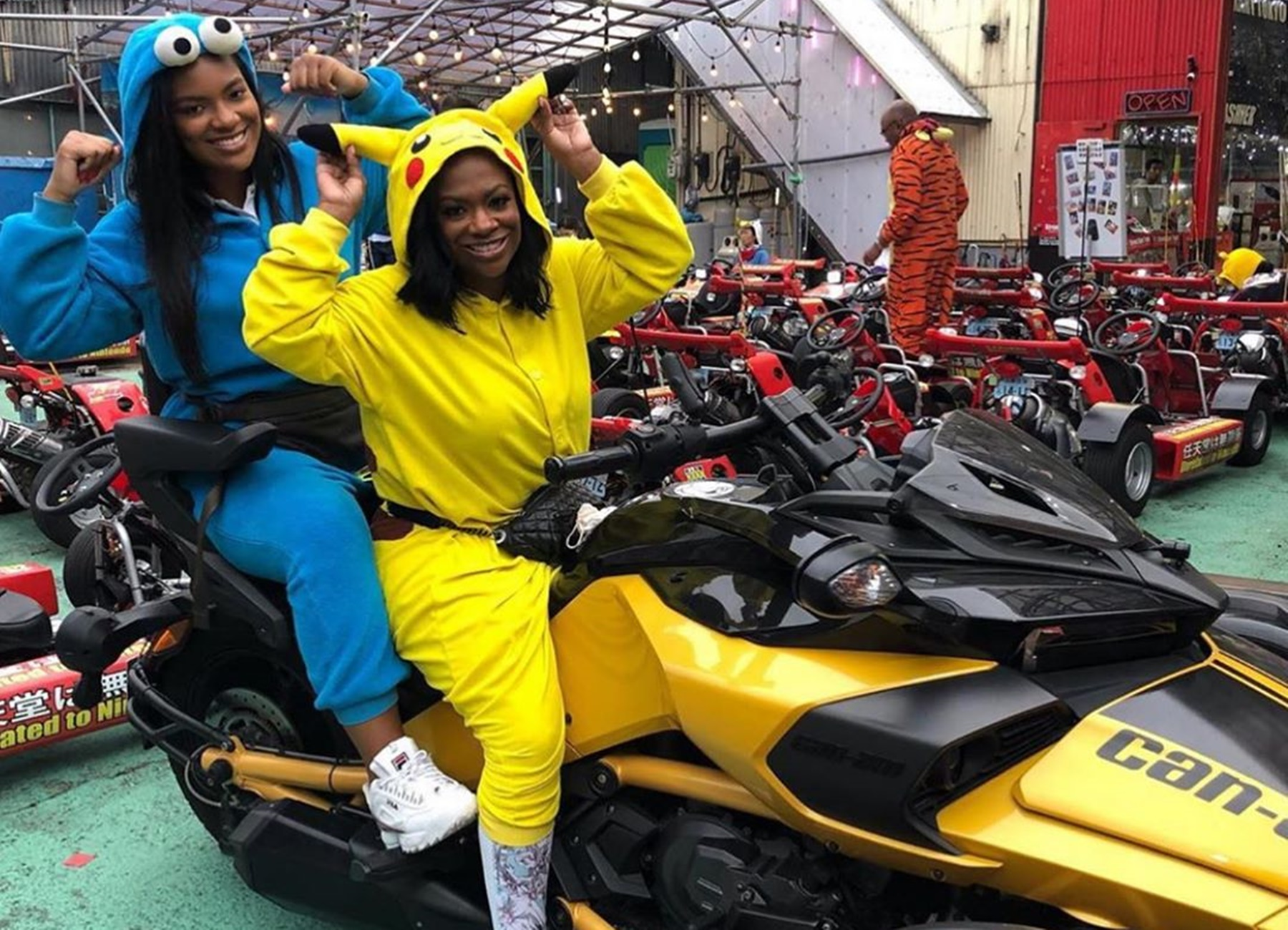 Riley Kandi Burruss Japan Trip