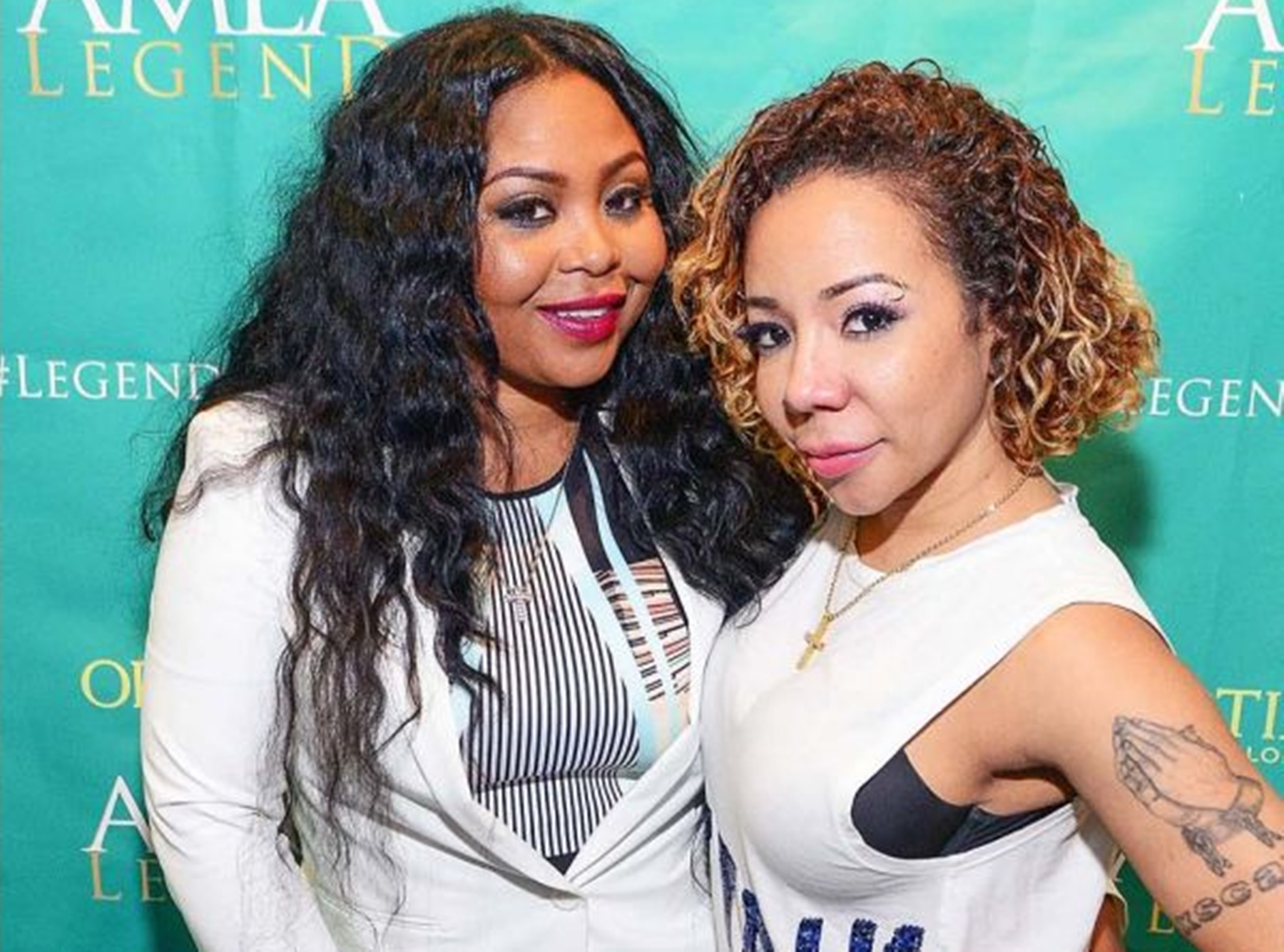 Tiny Harris Gushed Over Shekinah Anderson For Her Birthday - Check Out The Video She Posted