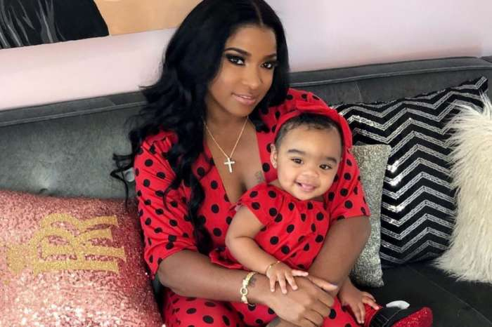 Toya Wright Is Twinning With Sassy Reign Rushing In The Cutest Outfit