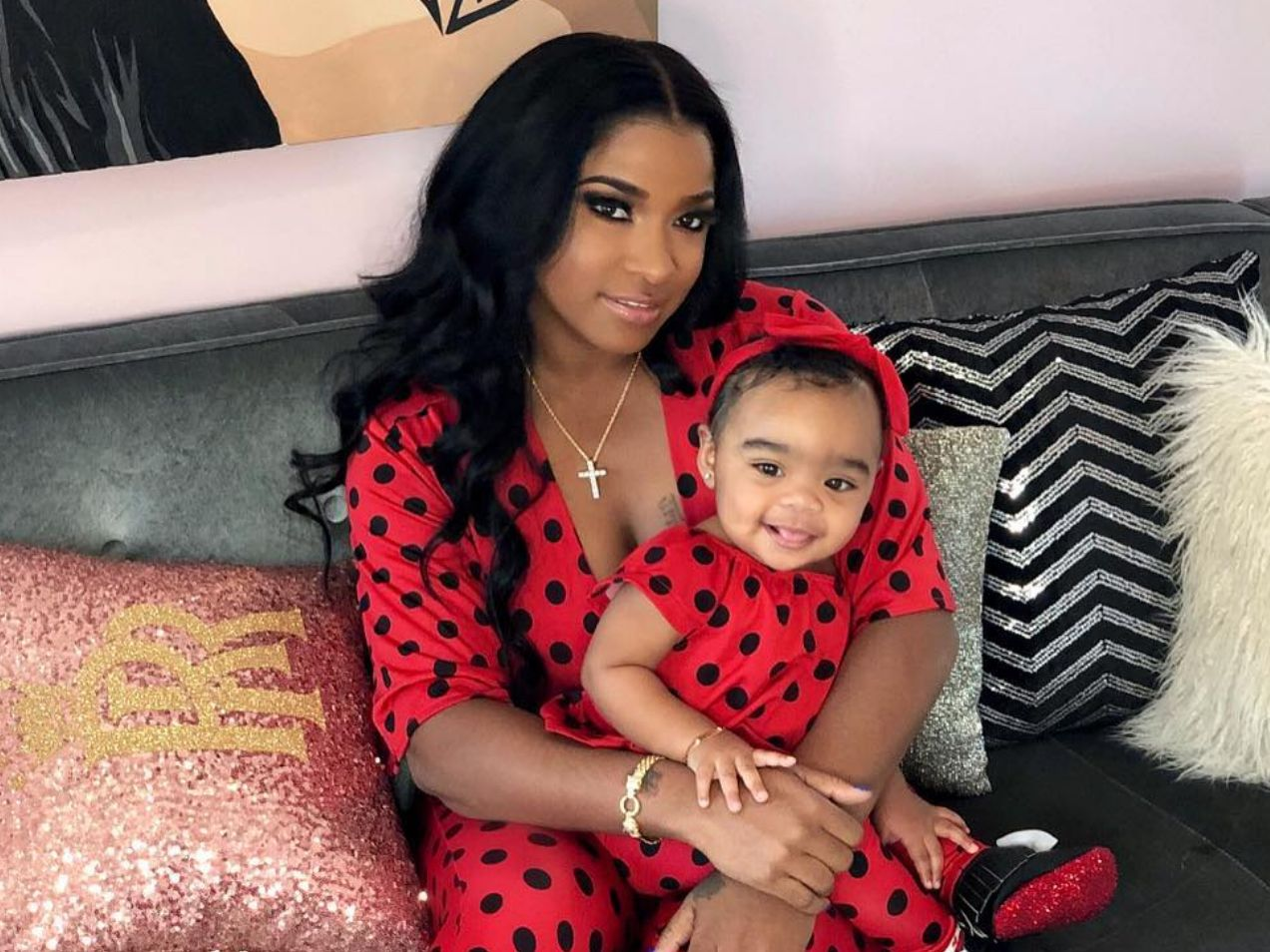 """toya-wright-is-twinning-with-sassy-reign-rushing-in-the-cutest-outfit"""