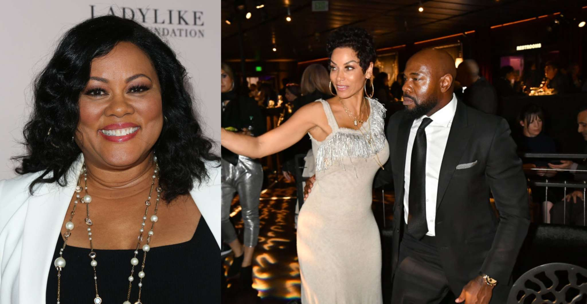 Nicole Murphy Caught Lip-Locking With Lela Rochon's Husband Antoine Fuqua