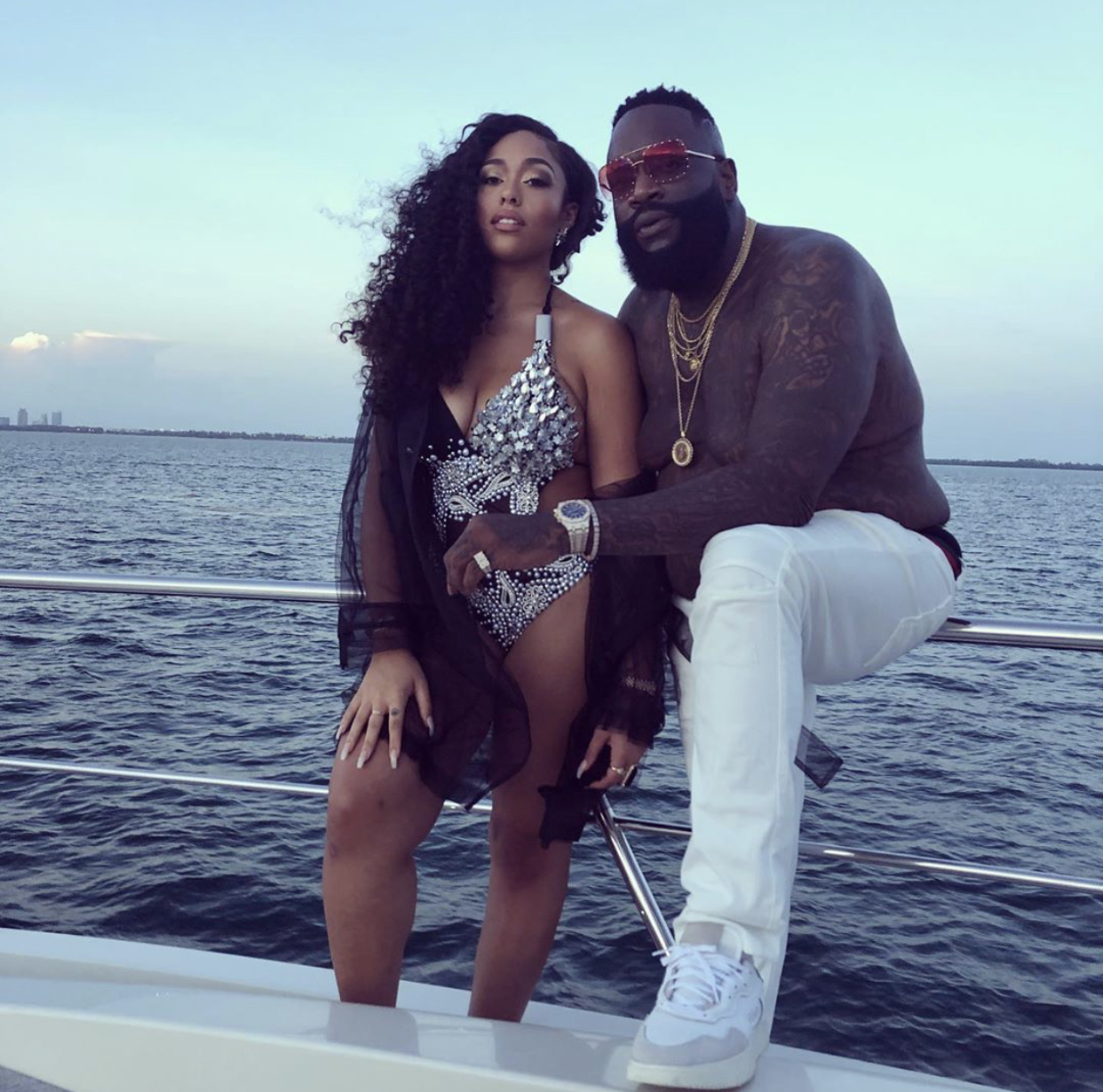 Jordyn Woods Is Featured In Rick Ross' Video And Fans Congratulate Her