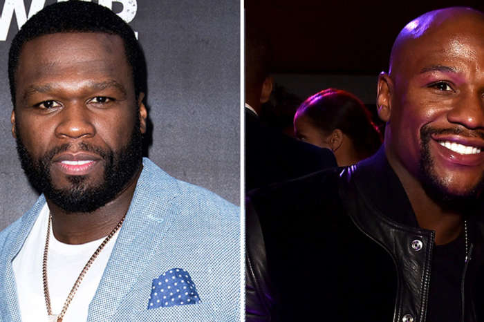 50 Cent Mocks Floyd Mayweather For His Huge Chanel Bag With Hilarious Edited Picture