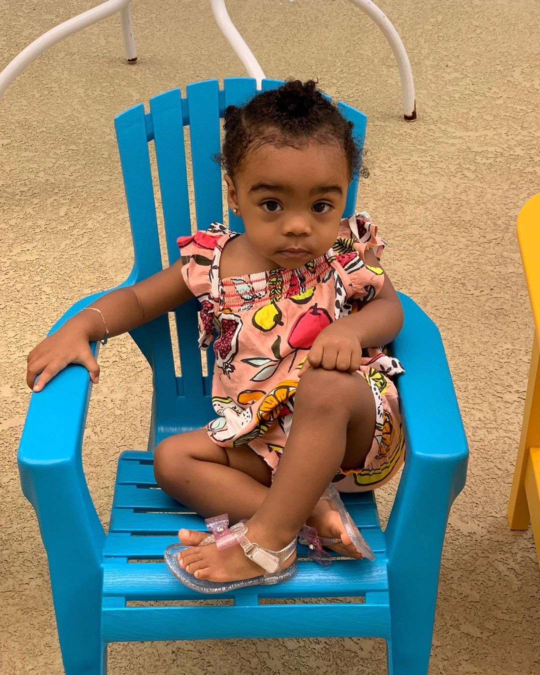 Toya Wright's Baby Girl Reign Rushing Is Becoming A Charming Young Lady - Check Out Her Latest Photos