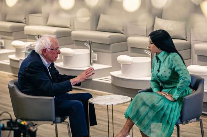 Cardi B Makes Her Biggest Political Move Yet, Sits Down With Bernie Sanders For A Fascinating Interview