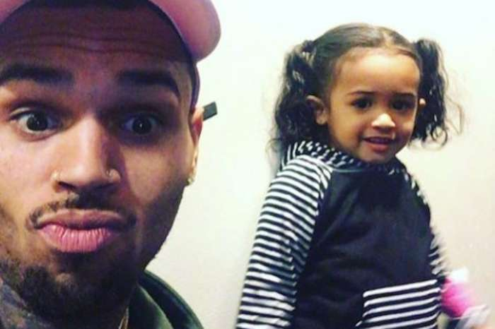 Chris Brown Posts Pics Of Him As A Child And Fans Think He And Daughter Royalty Look Like Twins!