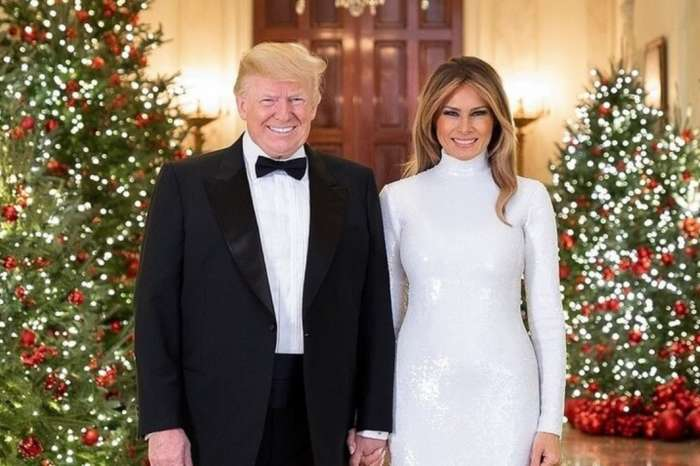 Melania Trump Is Dragged For Posting Gorgeous Christmas Decorations In July While The Donald Is Accused Of Posting Racist Tweets