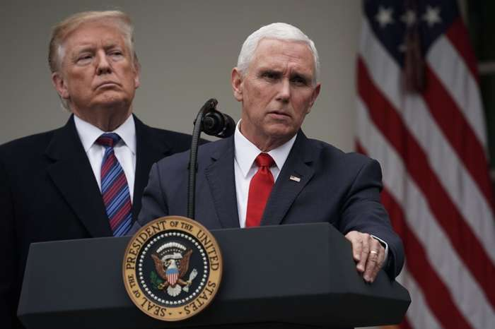 President Donald Trump Creates More Mystery About VP Mike Pence's Cancelled Trip -- Does It Mean Anything About 2020?