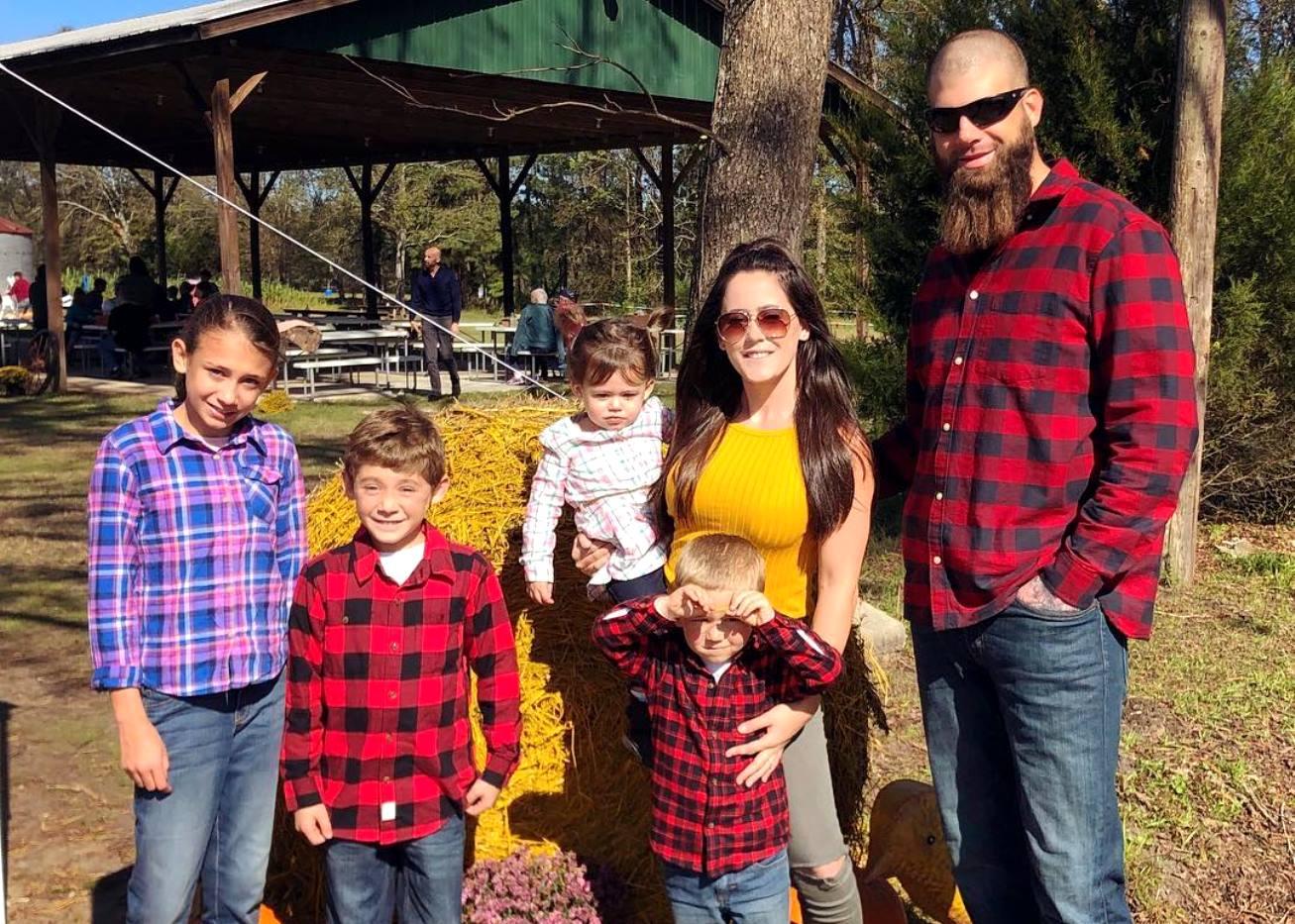 Jenelle David and Kids