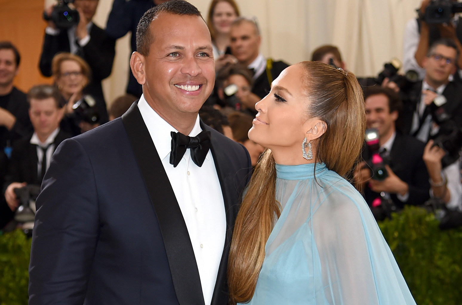 Jennifer Lopez disrupts Alex Rodriguez's live broadcast to honour birthday boy