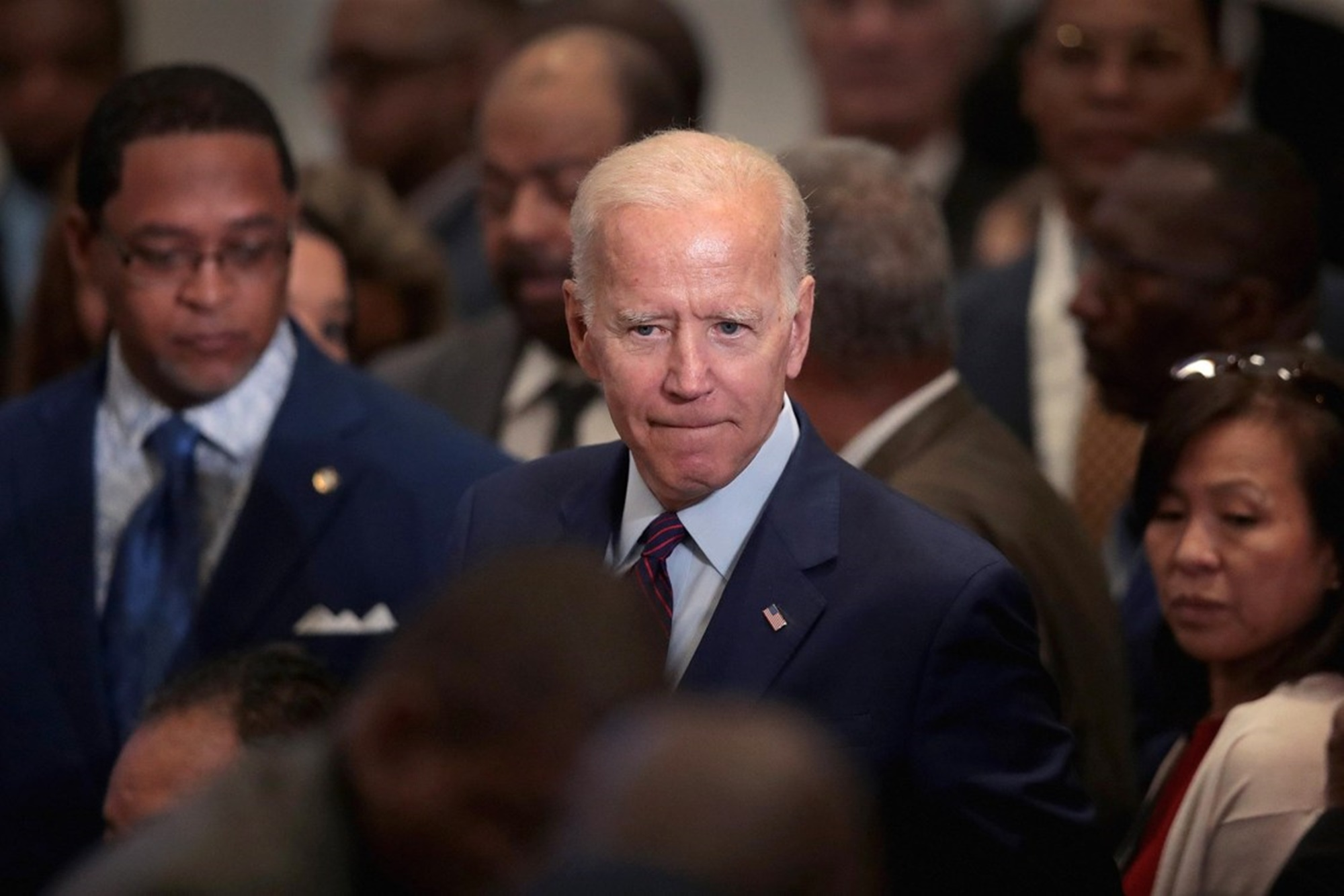 Joe Biden Donald Trump AOC