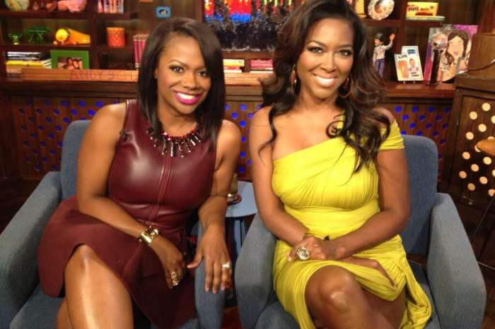 Kandi Burruss Poses With Kenya Moore's Baby Girl, Brooklyn Daly And Fans Are In Awe