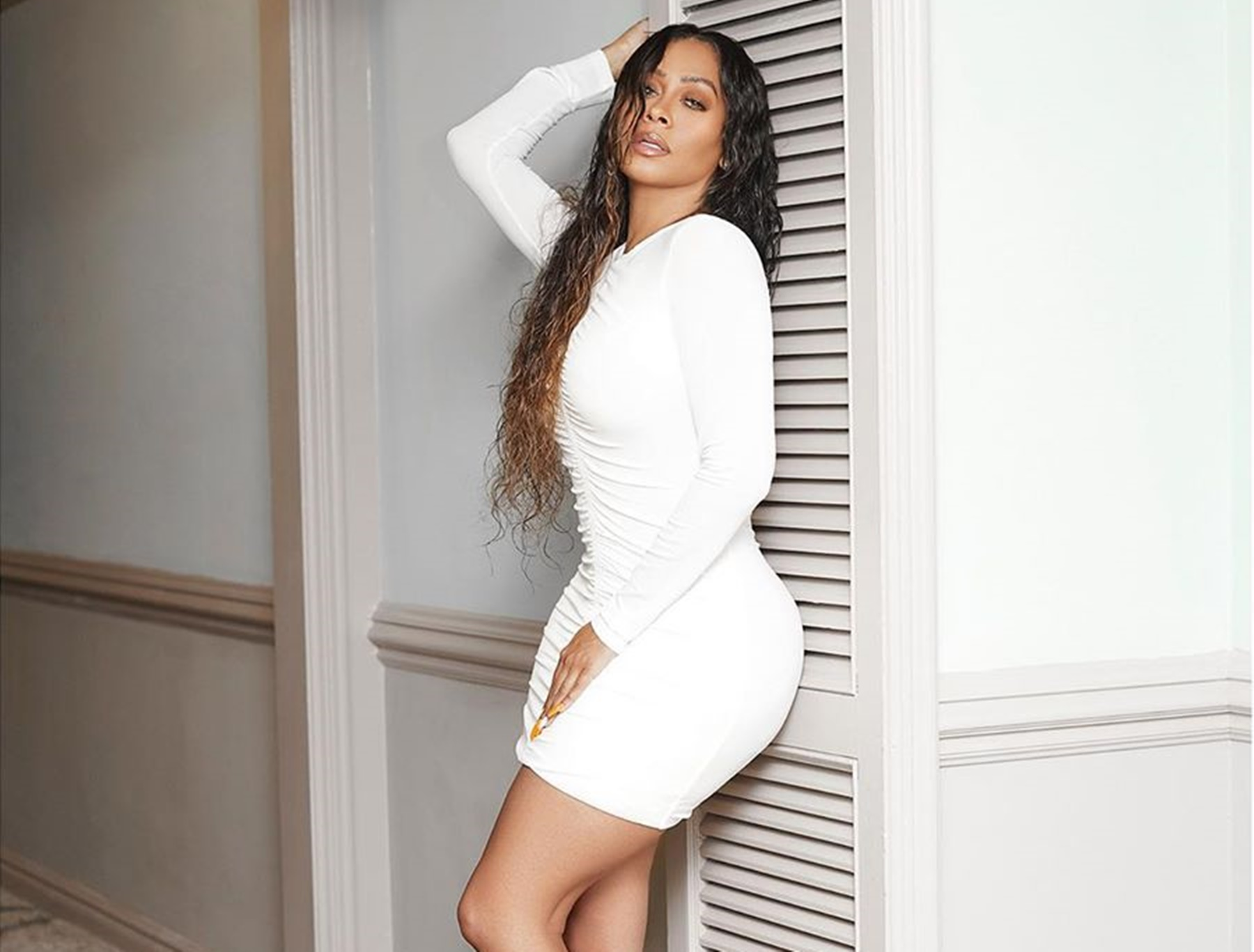 La La Anthony Carmelo Split