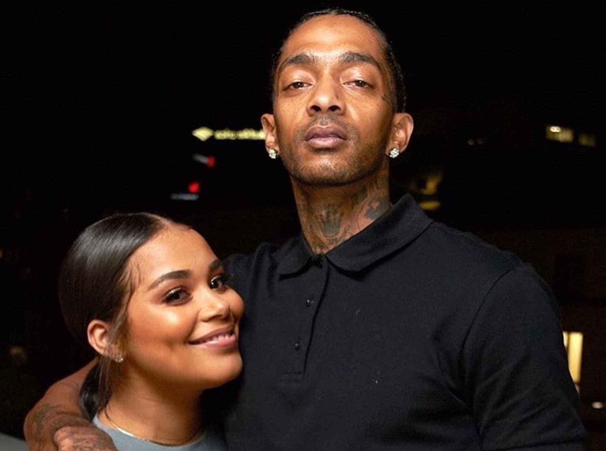"""lauren-london-has-the-look-of-love-in-rare-pictures-with-nipsey-hussle-as-she-reveals-how-god-is-helping-her-through-this-pain"""