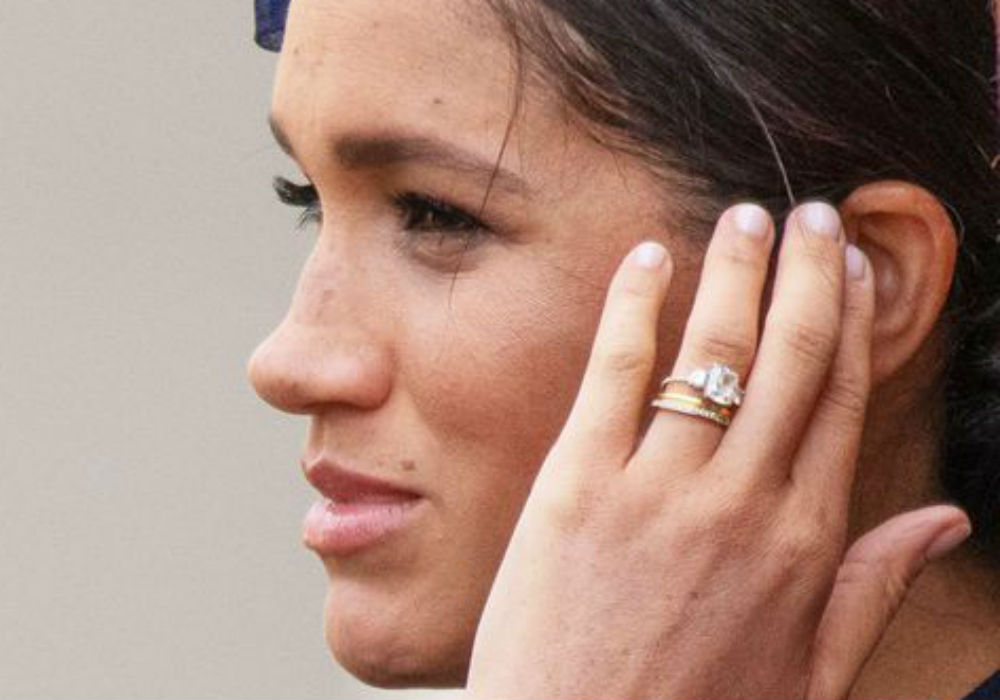 Meghan Markle's Wedding Ring Upgrade Includes A Secret Message