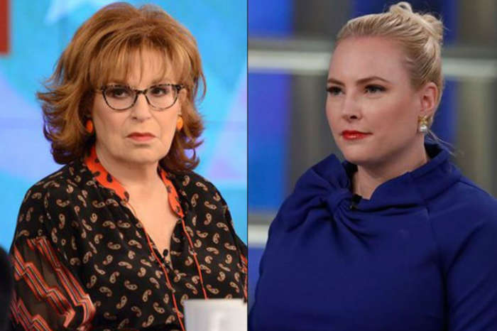 Meghan McCain Is Reportedly Ready To Leave The View Over Joy Behar Drama
