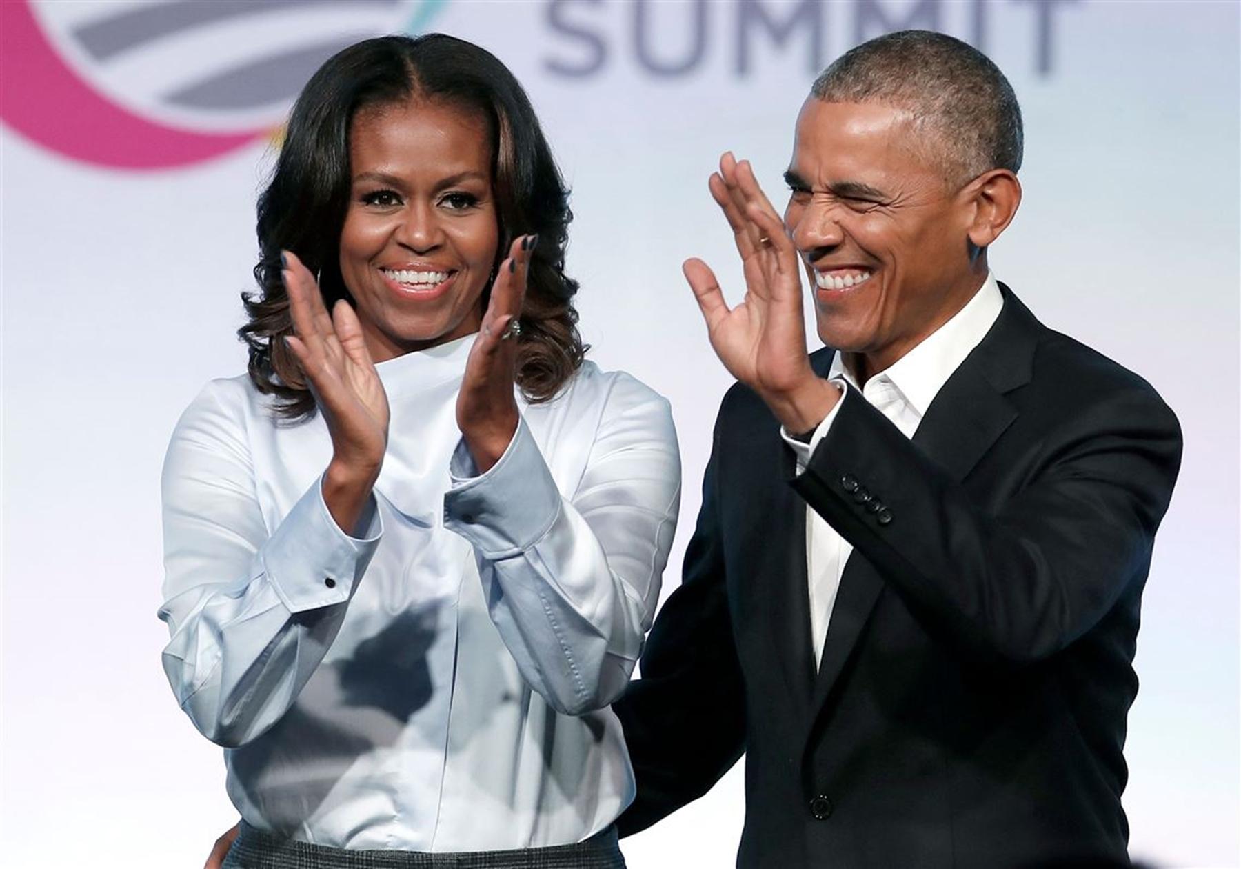 Michelle Barack Obama Donald Trump