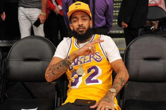 Nipsey Hussle's Iconic Lakers Jersey Idea Is Getting More Support After The Game Shared A Photo Of What It Should Like -- Will LeBron James Put His Weight Behind This?