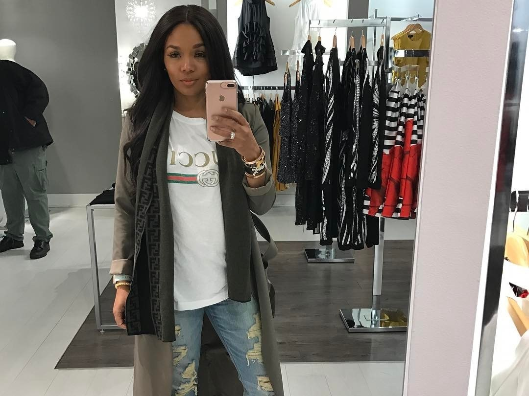 Rasheeda Frost Shows Off Her Stunning Body And Reveals Her Secret For Getting It So Fit - Trina Braxton Does The Same Thing