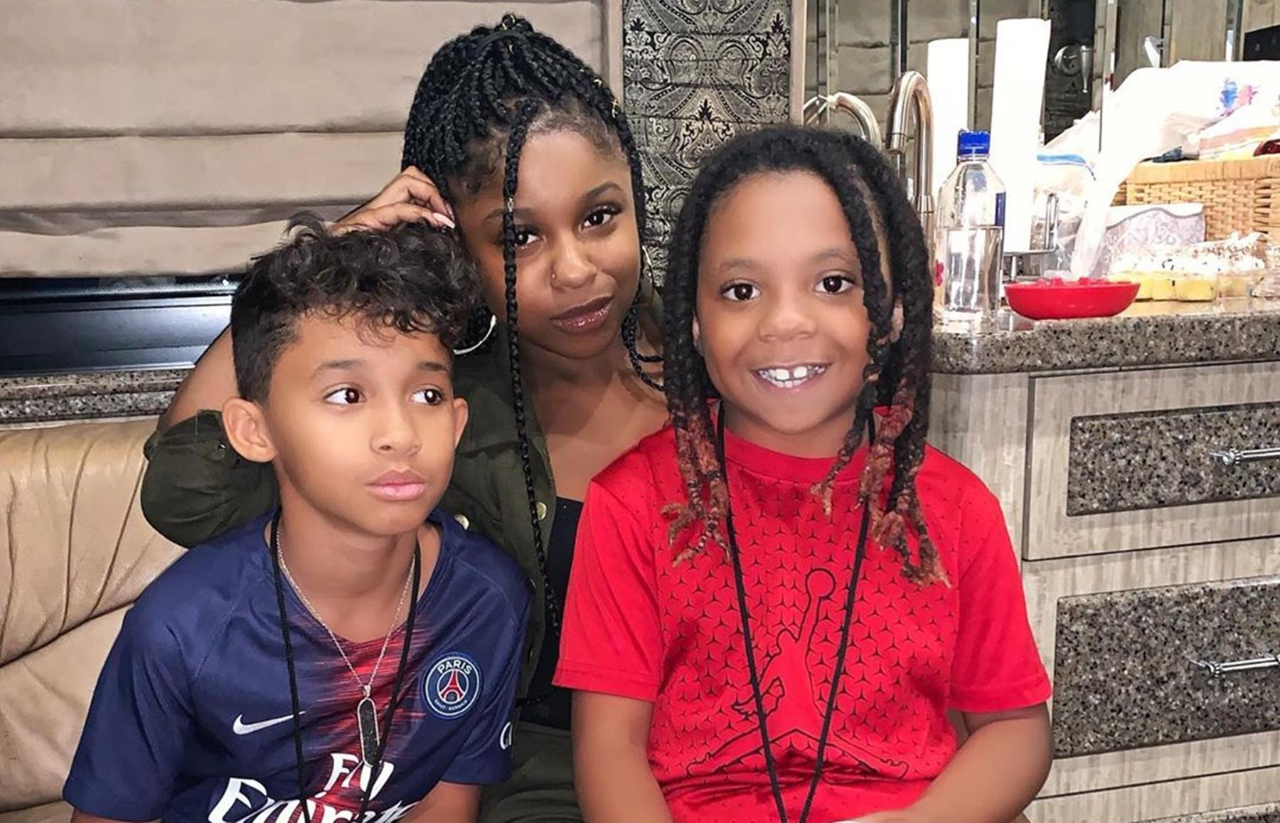 Reginae Carter Lil Wayne's Sons YFN Lucci