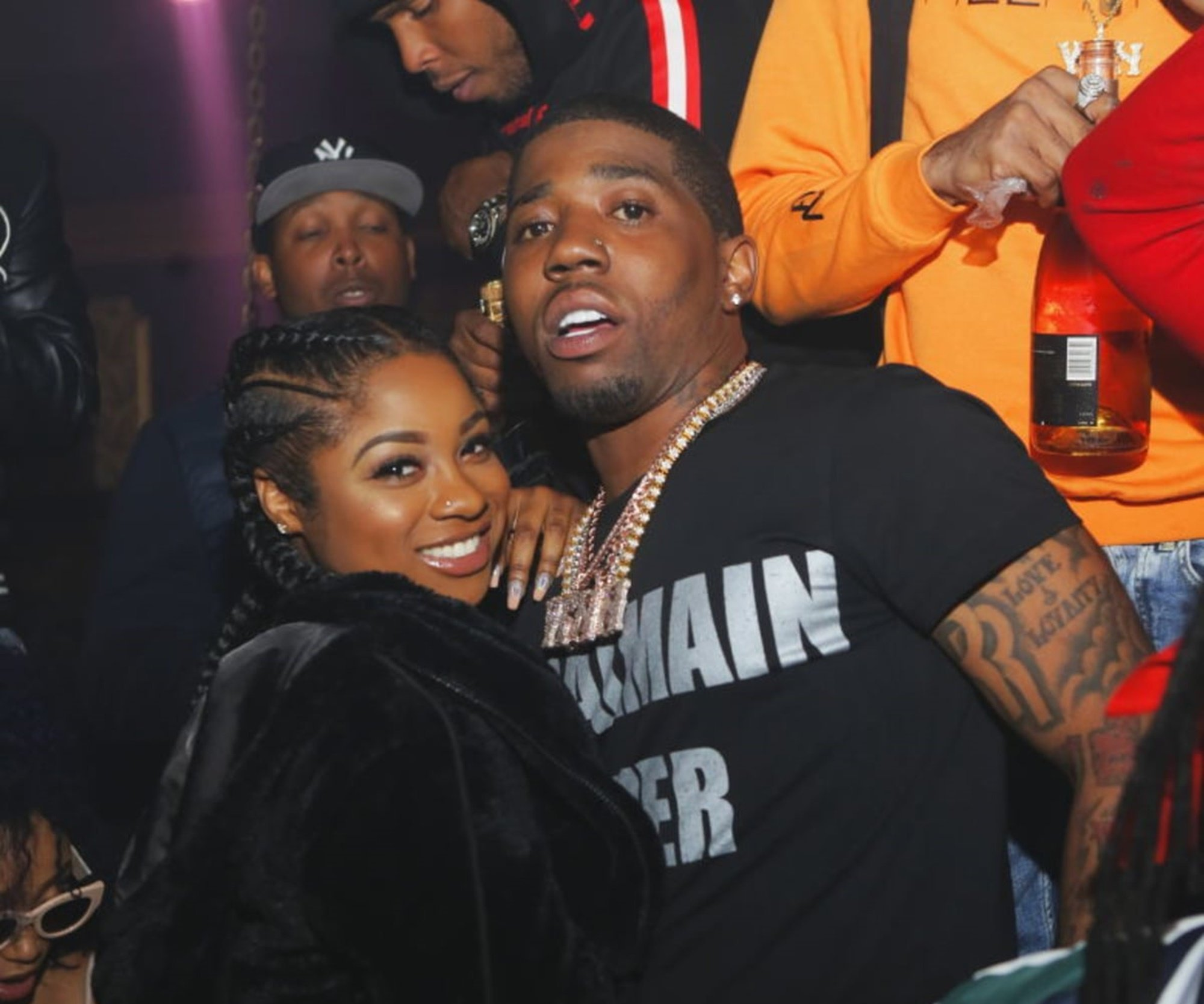 Reginae Carter Upsets Fans By Getting Back Together With YFN Lucci - See The Video