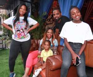 Kandi Burruss' Fans Cannot Believe How Much Her Blended Looks Alike After She Posted A Rare Picture Featuring Todd Tucker, Riley, Ace, And Kaela