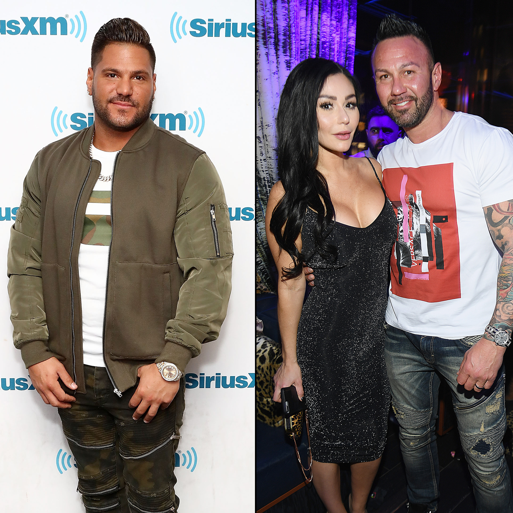 Ronnie Jwoww and Roger