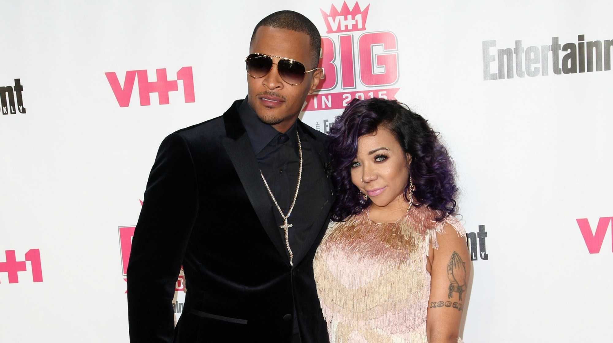 """tiny-harris-cannot-keep-her-hands-off-husband-t-i-power-couple-shows-their-futuristic-fashion-sense-will-deyjah-harris-and-zonnique-pullins-approve-the-style"""