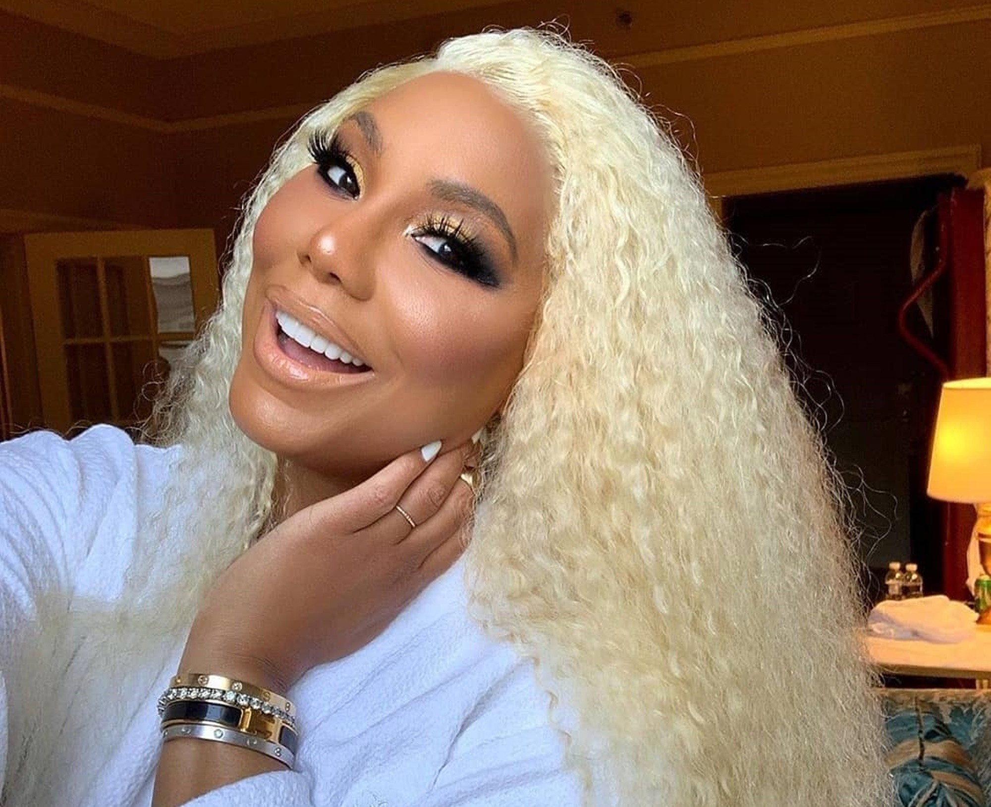 Tamar Braxton David Adefeso Essence
