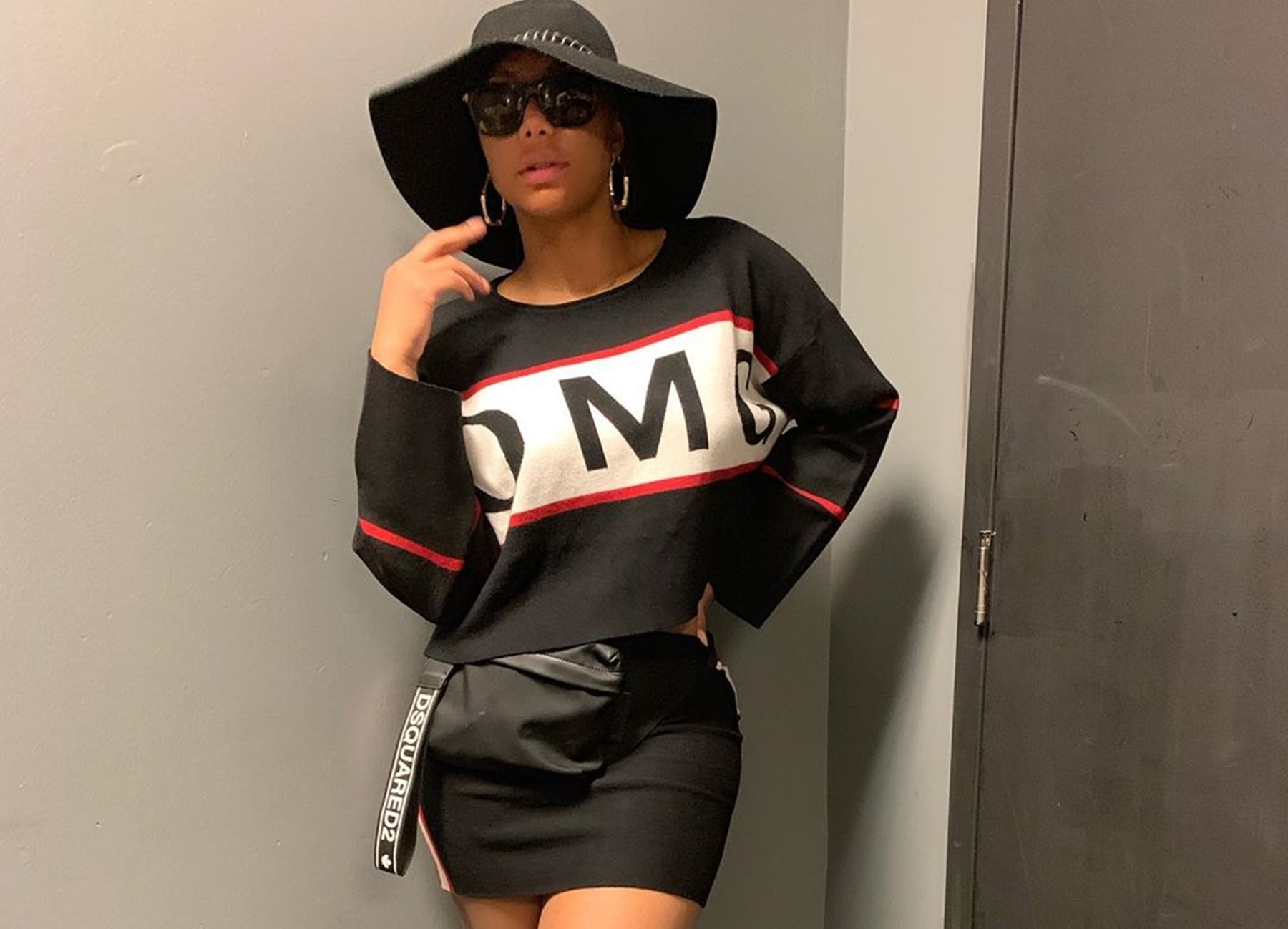 Tamar Braxton David Adefeso Revealing Clothes