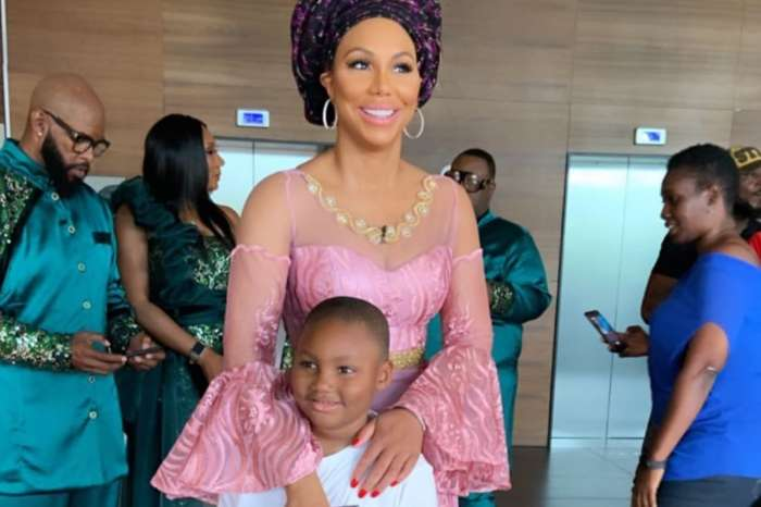 Tamar Braxton Defends BF David Adefeso's Honor After Video Of The Couple At Nigerian Birthday Party Goes Viral