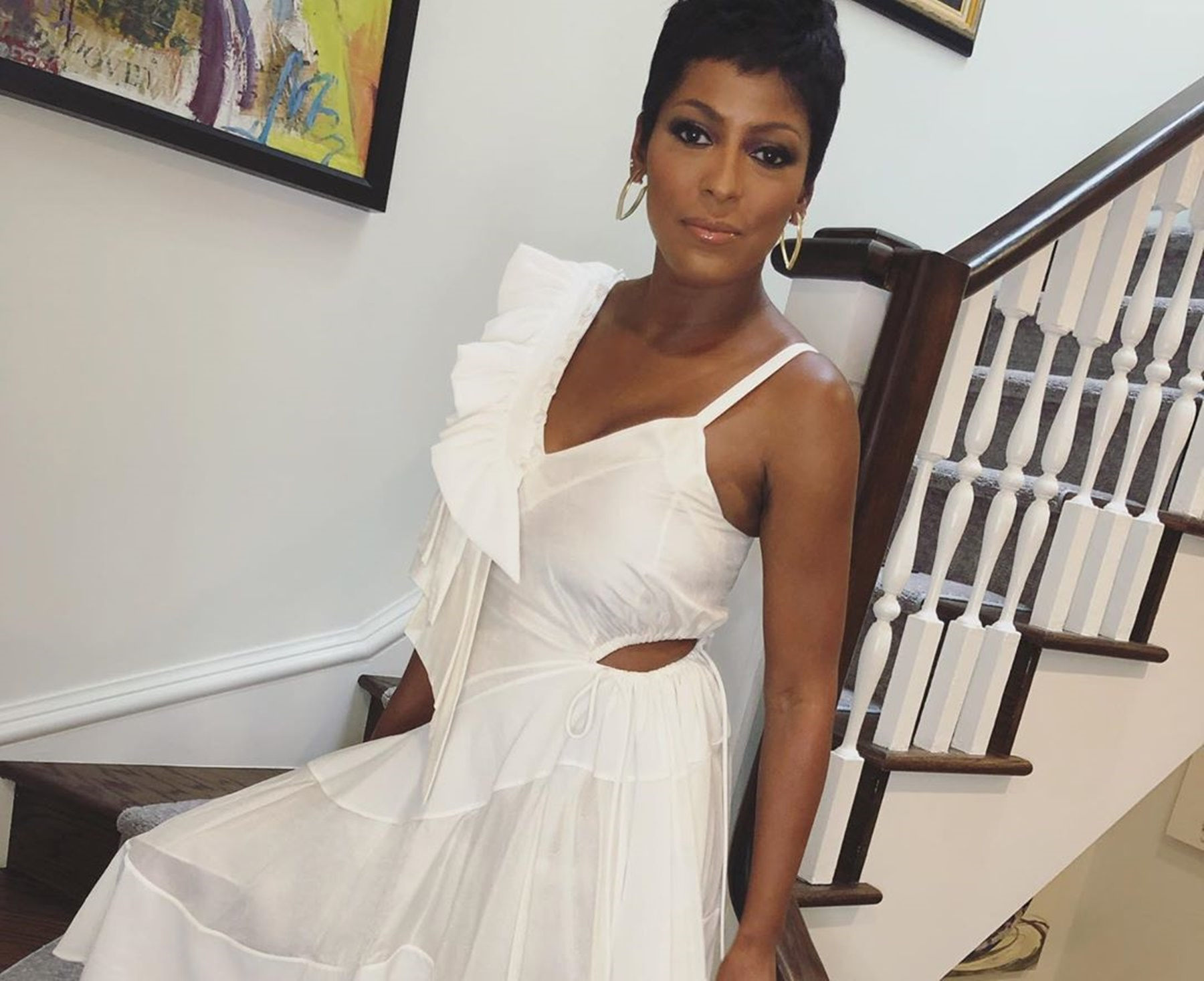 Tamron Hall Baby Moses Vacation