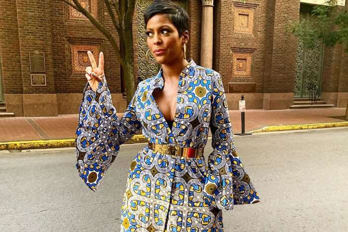 Tamron Hall Claps Back At Mom-Shaming After Posting This Photo Of Baby Moses -- She Promises To Do A Talk Show Like No Other