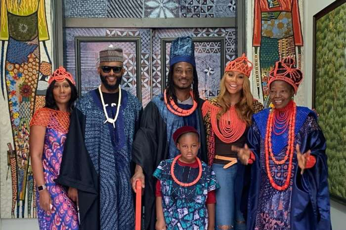 Tamar Braxton And David Adefeso Share Beautiful Pictures From Nigeria Trip With Their Families And Hint They Are Engaged To Be Married