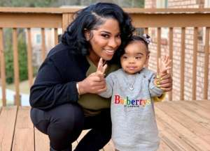 Toya Wright Shares New Pic & Video With Baby Reign Rushing And Fans Are In Awe