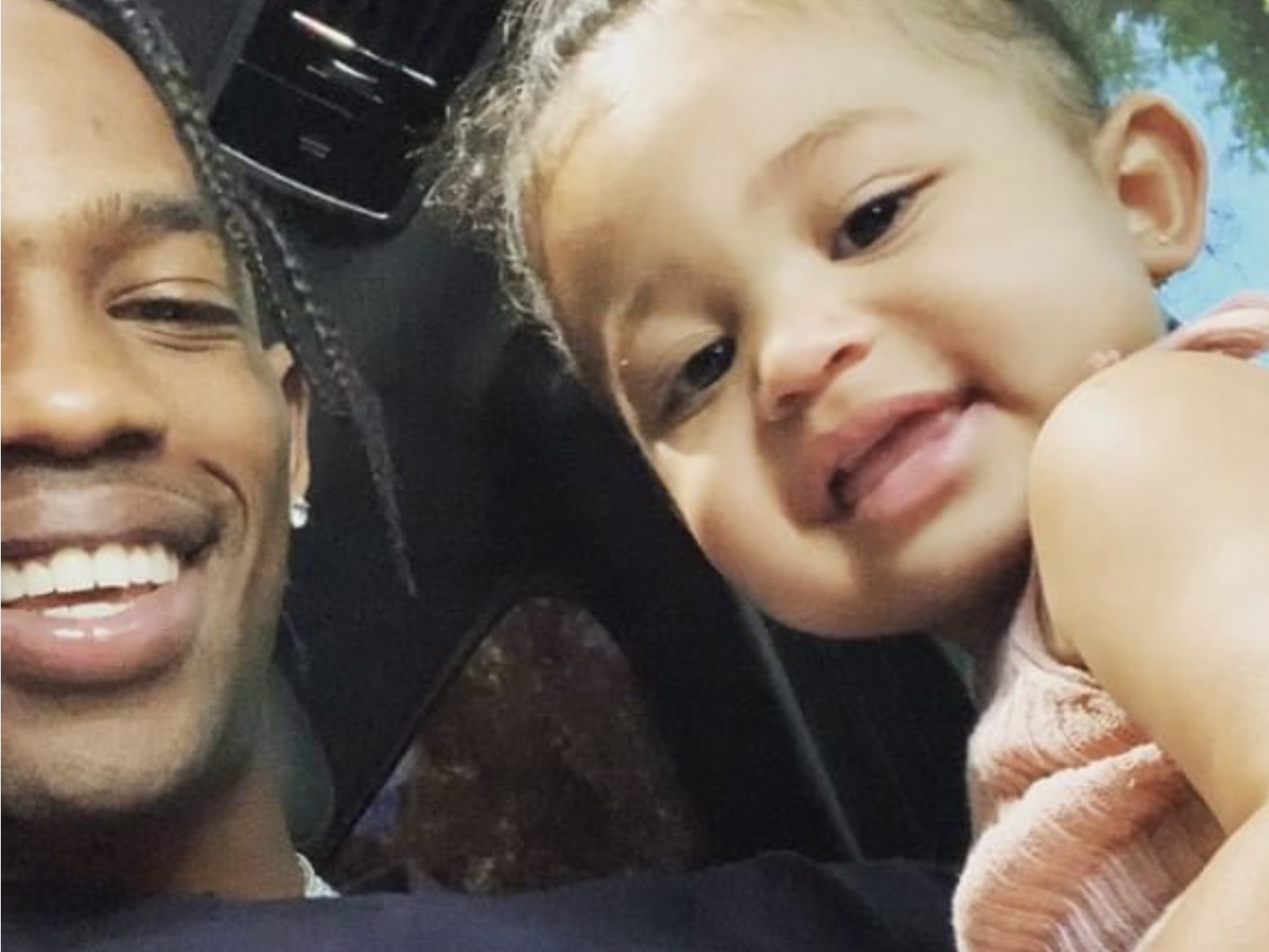 588bf06a28ba KUWK: Kylie Jenner's 1-Year-Old Daughter Stormi Webster Is Shown Talking In  Adorable Clip Featuring Her Dad, Travis Scott!